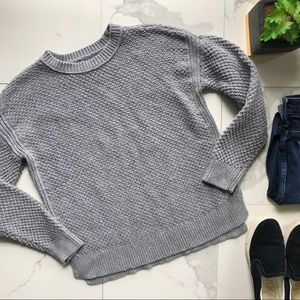 Abercrombie & Fitch Grey Knit Sweater